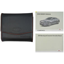 Brand New 2018 18 Kia Cadenza Complete Owners Manual Set Books