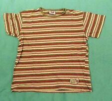 100% Baumwolle Markenlose Gestreifte Jungen-T-Shirts & -Polos mit Rundhals