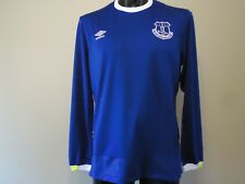 EVERTON OFFICIAL LICENSED HOME JERSEY 16/17 MENS XL L/S NEW