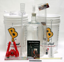 Brewer's Best DELUXE Beer Making Home Brewing Equipment Kit With Plastic Carboy