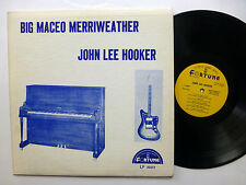BIG MACEO MERRIWEATHER John Lee Hooker LP Fortune 3002 Blues ORIG. press  sm1515