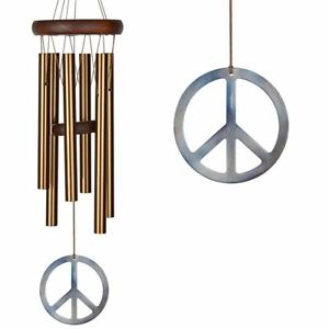WOODSTOCK CHIMES -  PEACE CHIME - TUNED TO LET THERE BE PEACE ON EARTH - WPCB