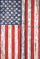 Garden Flag, Patriotic, American Flag, Fence, Rustic, Country
