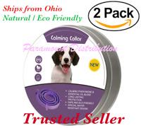 2 Pack Dog Calming Collar - Pheromone & Essential Oils : Behavior Stress Anxiety