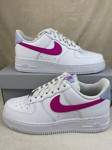 NIKE Air Force 1 Low 'Fire Pink' (W) Sz 7.5 (CT4328-101)