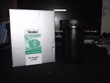 Rollei 90mm F2.8 AV-Apogon-per sistema Rolleivision 66, come nuovo in scatola!!!