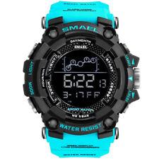 SMAEL Men's Army Military LED Digital Date Shock Waterproof Quartz Wrist Watch