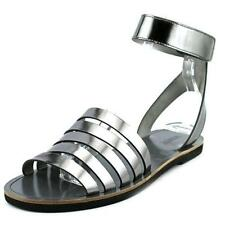 Calzado de mujer plana gris