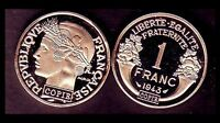 ★★ JOLIE COPIE DE L'INTROUVABLE 1 FRANC 1943 GRAZIANI ZINC ★★★ NEUVE FDC