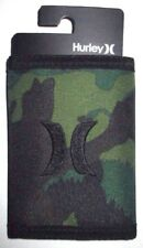 MENS HURLEY CAMO TRIFOLD WALLET