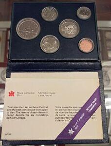 B-D-M Canada Cartera set 6 monedas 1981 SC UNC