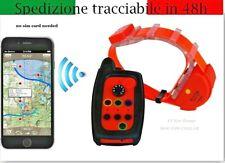 COLLARE GPS CANE DA CACCIA RICERCA HUNTER BEEPER PER FERMA FINO 15 KM SENZA SIM