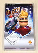Buzz-Master Quiz-Sony PSP Juego-como nuevo