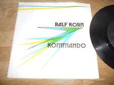 """RALF KORN KOMMANDO """"KEINE NACHT / SO MUSS LIEBE SEIN"""" 1989 WEST GERMAN PRESSING*"""
