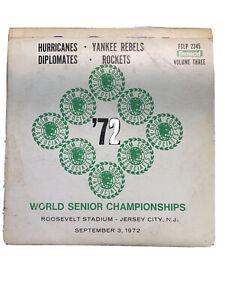 1972 Drum Corps Assosc. World Senior Championships, Vol. 3- Vinyl