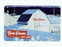 Bob Evans Gift Card Restaurant - Farm Snow Scene - 2009 - No Value - I Combine