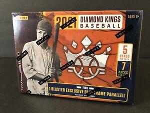 2021 Panini Diamond Kings MLB Baseball Blaster Box Factory Sealed Downtown?