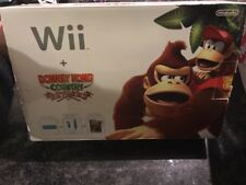 Nintendo Wii Console Limited Blue Donkey Kong Country Returns AUS PAL