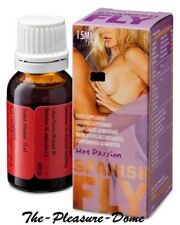 SPANISH FLY HOT PASSION 15ml Sex Drops Libido Enhancer Erotic !! 15ml