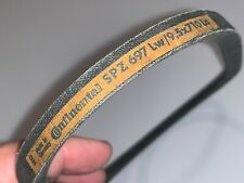 "Porsche Fan Belt Continental 9,5 x 710mm (""NO"" date) 911 1964-1973 Tool Kit -NOS"