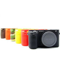 For Sony A6500 A6300 Soft Silicone Case Camera Bag Body Protective Body Cover