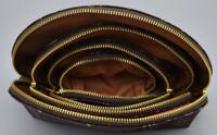 4pcs / set Women Cosmetics Bags Famous Makeup Bag Hand Bag designer travel pouch