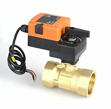 "Control Valve 1-1/4""  24VDC/AC On/Off Proportional Modulating Motorized Electric"