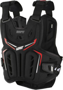 Leatt Black 3DF AirFit Chest Protector Black/Red XX-Large 5017120113