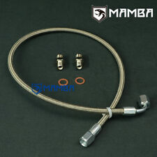 MAMBA Turbo Oil Feed Line Kit For MAZDA MIATA MX-5 323 GTX w/ Holset HX30W