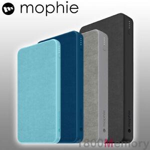 GENUINE Mophie Powerstation Fabric USB-C Type C USB A Power Bank Battery XL XXL
