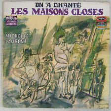 On a chanté les maisons closes 33 tours Michelle Laurent