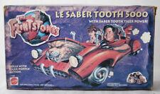 VINTAGE 1993 FLINTSTONES LE SABER TOOTH 5000 FRED'S CAR MATTEL NEW SEALED NOS !