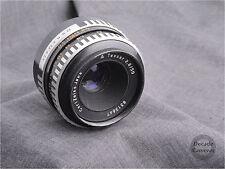 4566-M42 Carl Zeiss Jena Tessar Cebra [] 50mm f2.8 primer lente estándar