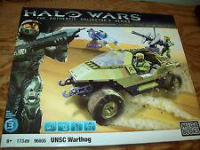 MEGA BLOKS 96805 HALO WARS - UNSC WARTHOG with 3 figures 173 pc Retired Sealed