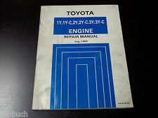 Workshop Manual/Repair Manual Toyota Liteace Hiace Hilux Motor/Engine, 1983
