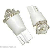 2x CHEVROLET LACETTI lumineux LED Blanc XENON SUPERLUX plaque minéralogique ampoules