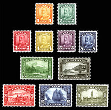 Canada #149-#159 1c-$1 1928-29 Scroll Bluenose Gem *MLH* Set of 11 Rare Stamps