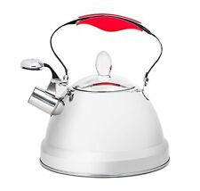 Kettle Teapot Steel Stainless Steel Whistling Tea Coffee Water Hot Stove Top Pot