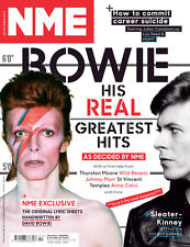 NME Magazine,DAVID BOWIE,Marc Bolan, Lou Reed, Patti Smith, Mick'n'Keith  NEW