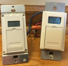 Two Intermatic Electronic Wall Switch Timers