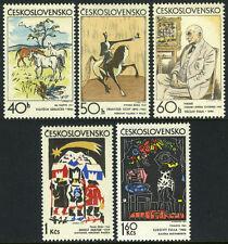 Czechoslovakia 1806-1810, MI 2060-2064, MNH. Czech and Slovak graphic art, 1972