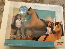 Dreamworks Spirit Riding Free Lucky Doll and Spirit Horse Pony Set