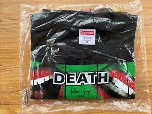 SUPREME GILBERT & GEORGE DEATH TEE - Size M - Brand New & Sealed