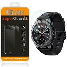 3X SuperGuardZ® Tempered Glass Screen Protector For Samsung Gear S3 Classic LTE