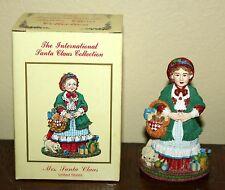 International Santa Claus Collection MRS SANTA CLAUS UNITED STATES Figurine MC02