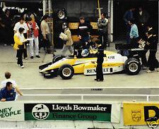 DEREK WARWICK RENAULT RE50 F1 1984 BRITISH GP ORIGINAL PERIOD PHOTOGRAPH FOTO