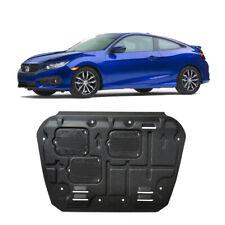 For Honda Civic 16-18 Plastic Steel Engine Splash Guard Shield Mud Flaps Black