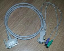 Rose Electronics Pro KVM cable UltraCable® CAB-ZX0606C005 CAB-ZX0606C5 5ft 150cm