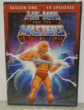 HE MAN AND THE MASTERS OF THE UNIVERSE SEASON ONE 10 EPISODES (DVD 2011) NEW