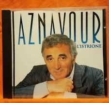 Pre-owned ~ L'Istrione by Aznavour (CD, 1995, EMI) Import